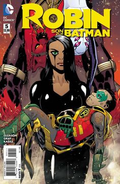 Damian, Mya, and Goliath are attacked by the mysterious faction known as the Lu'un Darga, and dragged deep inside the earth where they find...Talia al Ghul?! How will Damian face the mother who betray