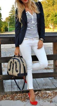 Ways To Wear It: Striped Henley - Mindy Mae's Market