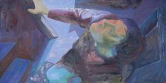 "Saatchi Art Artist Wojtek Herman; Painting, ""On the stairs"" #art"