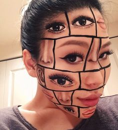 This Makeup Artist's Work Takes Optical Illusions to the Next Level