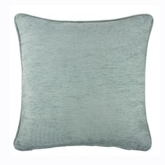 Buy the Sahara Chenille Cushion Duck Egg | Cushions | The Range