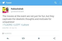 People are talking about 7th Lahore International Children's Film Festival 2015  Www.thelittleart.org http://ift.tt/1q8qXk6  #TLAORG #Lahore #Children #Film #Festival #LICFF #2k15 #art #education #NewGenerationCinema #socEnt #entertainment #instaphoto #instadaily #vsco #Pakistan #Youth #ArtsEd #CinepaxCinemas #cinemaforkids #artmatters #picoftheday #danida