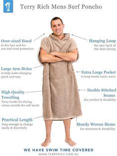 Surf Changer Robe for Men