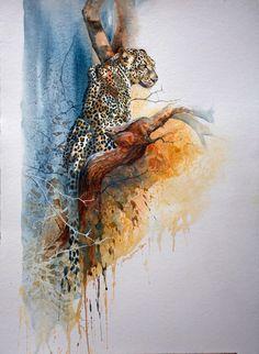 Karen Laurence Rowe - Conservation Artist | Fillingdon Fine Art
