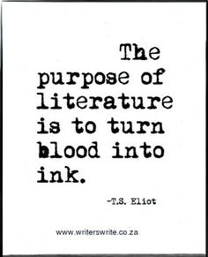 T.S. Eliot is right!