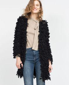 Image 3 of FANCY COAT from Zara