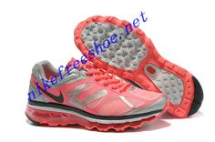 Hot Punch Shoes Pink Nike Air Max 2012 White Anthracite Pro Platinum