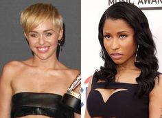 Was #MileyCyrus 'Cursing' Off #NickiMinaj After #MTV #VMA Confrontation?