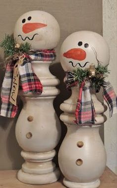 My Spare Time Designs -- Adorable Snowman Candles.... NO instructions. Link leads to a jewelry site IDEA only