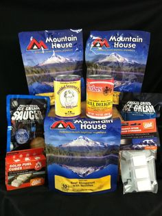 for sale: best by date of december lot of 23 pouches of mountain house freeze dried biscuits and gravy buttermilk biscuits with gravy and pork patty crumbles - freeze dried pouch weight of oz (g) all brand-new and sealed you will receive 23 pouches!!