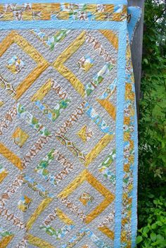 Double diamond Quilt project on Craftsy.com