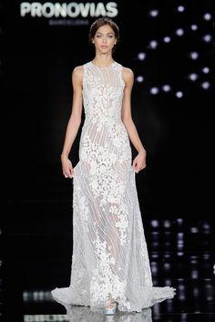 Los vestidos de novia se merecen estar en la alta costura.