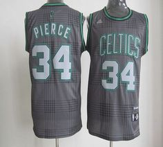 Celtics  34 Paul Pierce Black Rhythm Fashion Stitched NBA Jersey Soccer  Jerseys 524bc564993e