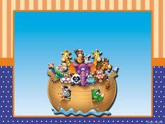 Arca de Noé – Kit festa infantil grátis para imprimir – Inspire sua Festa ®