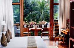 Club Lagoon Room Balcony, Anantara Hua Hin Resort & Spa, Hua Hin Beach, Thailand.