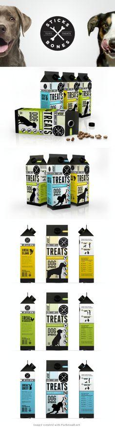 Sticks and Bones Dog Treat Packaging