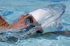 Michael Phelps si allena in Arizona dopo due anni di assenza dal nuoto, 25 aprile