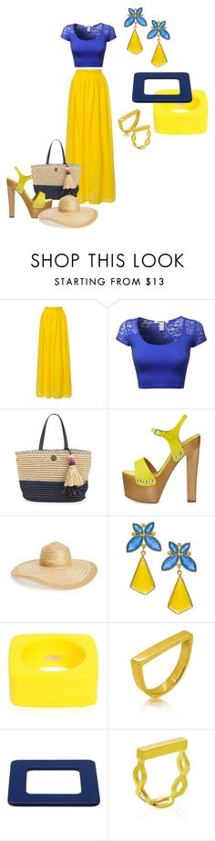 """""""Summer dream"""" by elisa-itgirl ❤ liked on Polyvore featuring Tory Burch, Giuseppe Zanotti, Nordstrom, Kanupriya, Dsquared2, Maya Magal and Lanvin"""
