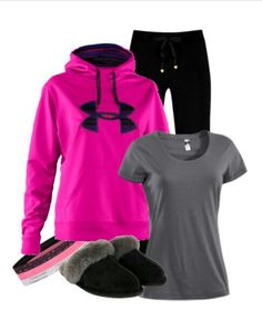 Lazy day under armor  clothes