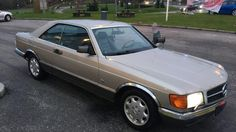 Mercedes-Benz S-Klasse 500sec innbytte finans 1985, 290 000 km, kr 119 000,-