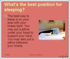 How To Sleep With Lower Back Pain Best Sleeping Position For Lower Back Pain | Sciatic Nerve Relief
