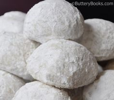 Cotton Ball Cookies Recipe | ButteryBooks.com