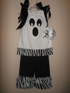 Ghostly Outfit by CumptonsPunkins on Etsy, $35.00