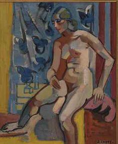 andre lhote paintings | André Lhote (FRENCH, 1885-1962) | Le Modèle | Interiors Auction ...