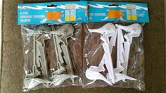 8 Beach Towel Clips Stakes Sharks 4 Pack Reusable Bags  #NantucketBreeze
