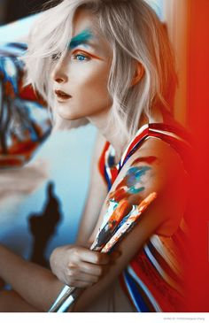 Amy Finlayson Gets Artistic for Shine by Three Story by Margaret Zhang
