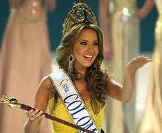 Daniela Alvarez. Miss Colombia 2012