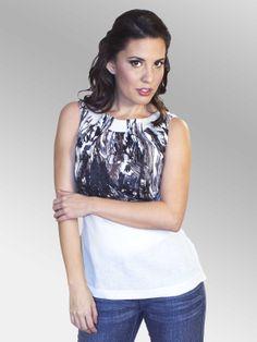 Blusa MonteCarlo #moda #lino #SS2014 www.abito.com.mx