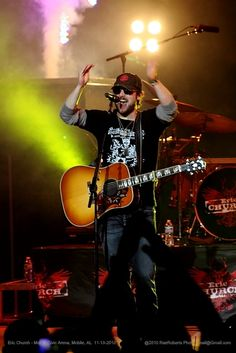 Country star Eric Church will perform at the Big Sandy Superstore Arena on Saturday. Church recently snagged the Album of the Year prize at the Country Music Association Awards.