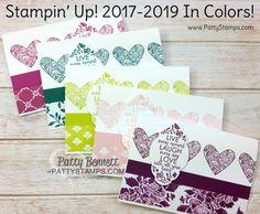 New 2017 2019 Stampin' UP! In Color Sneak Peek