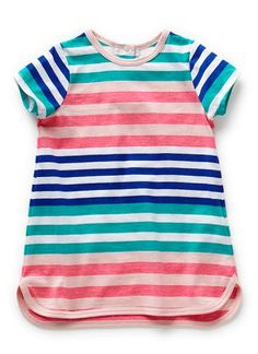 Baby Clothes Dresses | Bg Stripe Rope Trim Dress | Seed Heritage