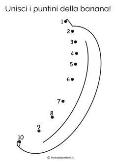 "15 Disegni ""Unisci i Puntini"" da 1 a 10 per Bambini Piccoli | PianetaBambini.it Senses Preschool, Preschool Writing, Numbers Preschool, Indoor Activities For Toddlers, Preschool Learning Activities, Preschool Lessons, English Grammar For Kids, English Lessons For Kids, Kindergarten Coloring Pages"