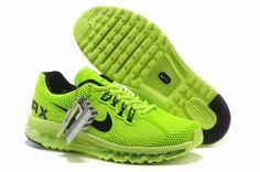 Clearance Mens Nike Air Max 2013 Honeycomb Mesh Neon Green Black Shoes W8847