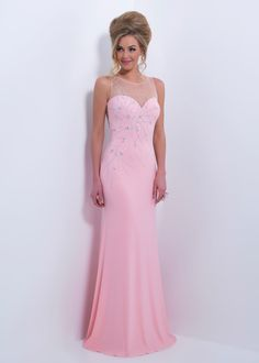 Long Dresses on Pinterest | Bari Jay, Beaded Prom Dress and Beaded Ch ...