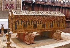 Tomb of Queen Leonora, Daughter of Henry II of England and Eleanor of Aquitaine & wife of King Alfonso VIII.