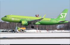 : Airbus A320-271N / S7 Airlines