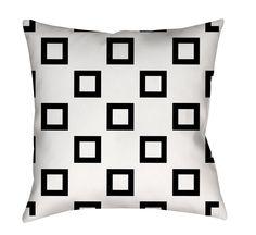 Band Printed Throw Pillow