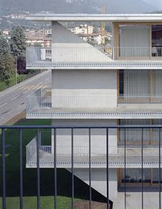 Casa dell'Accademia by Carola Barchi, Jachen Könz & Ludovica Molo — Atlas of Places Facade Architecture, School Architecture, Best Hotel Deals, Best Hotels, Student House, Stairs, Exterior, Places, Outdoor Decor
