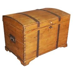 Large 19th Century Continental Chest/Blanket Box   From a unique collection of antique and modern blanket chests at http://www.1stdibs.com/furniture/storage-case-pieces/blanket-chests/