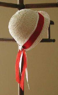 straw cloche doll hat, pnbdoll.com