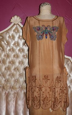 BUTTERFLY AUTHENTIC FLAPPER DRESS