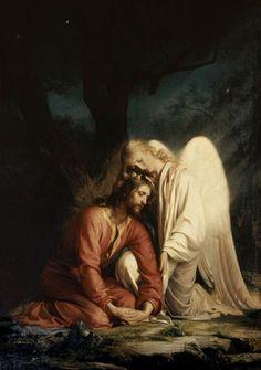 Christ à Gethsémani-Carl Heinrich Bloch art