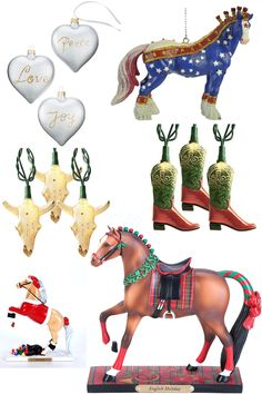 Christmas Decorations for the Horse Lover | Horses & Heels