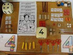 Lesidee rekenen kleuters Cognitive Activities, Math Activities, Kindergarten Math, Teaching Math, Early Years Maths, Math For Kids, Math Resources, Pre School, Montessori