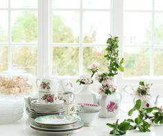 Querido Refúgio, Blog de decoração e organização com loja virtual: Uma pequena cozinha em rosa e verde