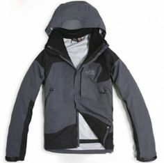 North Face Triclimate 3 In 1 Jacket Mens Gray Black North Face Hoodie, North  Face 9dc1dc13d7b3